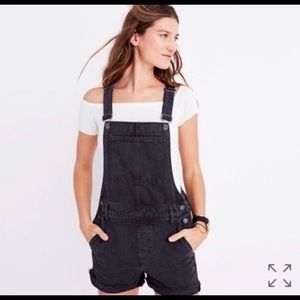 Madewell overall shorts